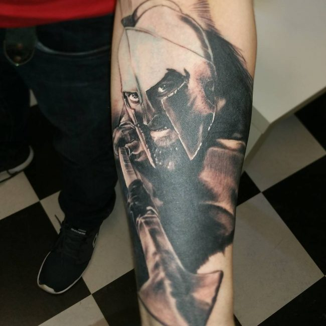 spartan tattoo47