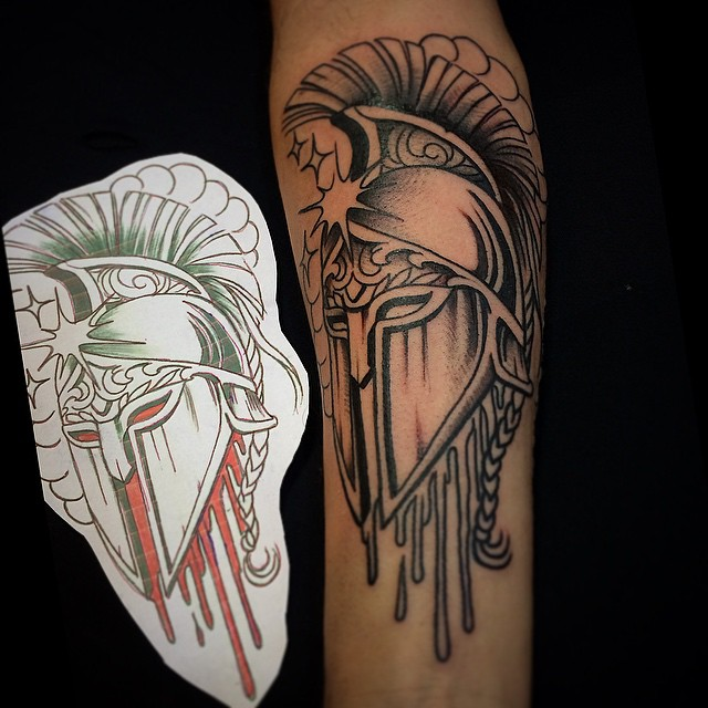 spartan tattoo48