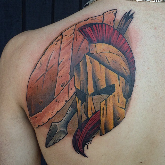 spartan tattoo49