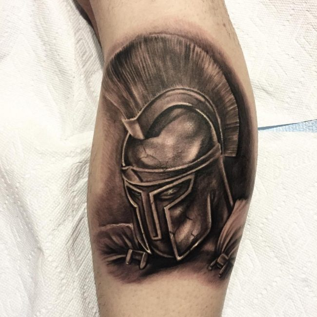 spartan tattoo5