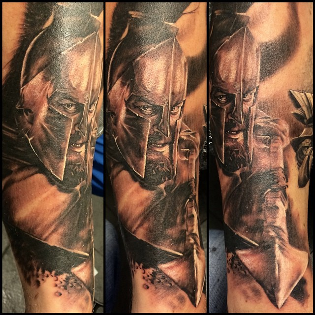 spartan tattoo56