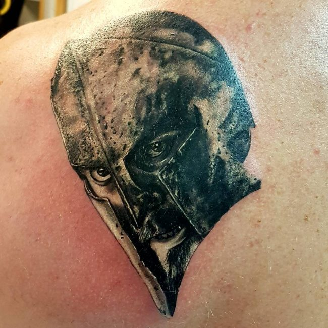 spartan tattoo6