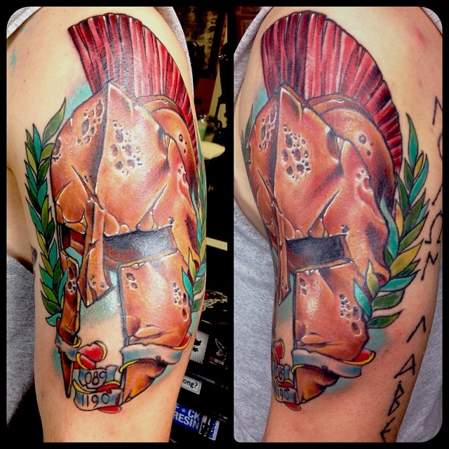 spartan tattoo62
