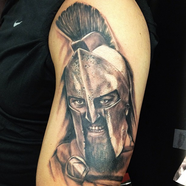 spartan tattoo63
