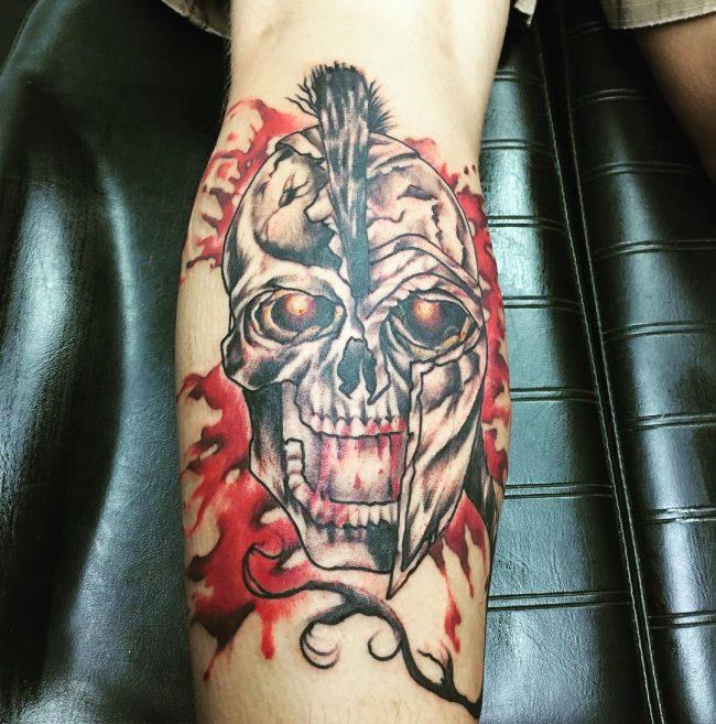 spartan tattoo65