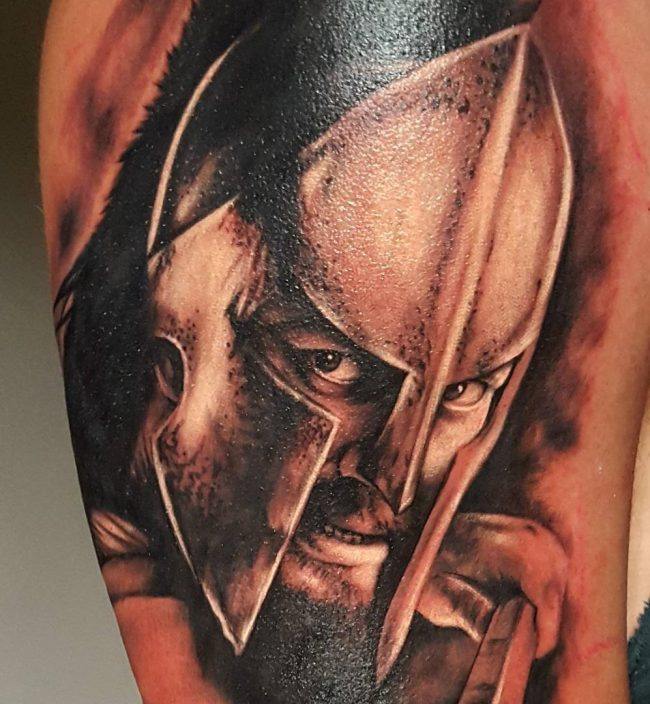 spartan tattoo8