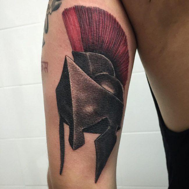 spartan tattoo9