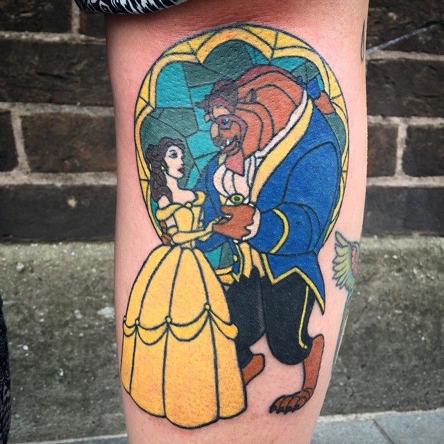 stained glass tattoo15
