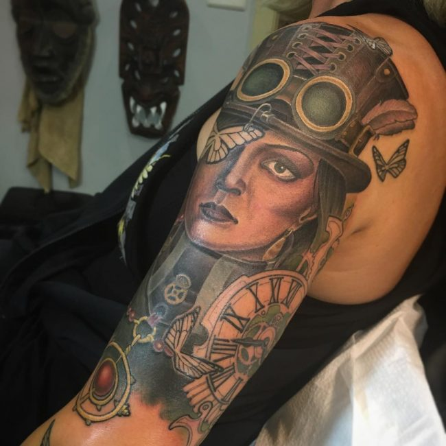 steampunk tattoo1
