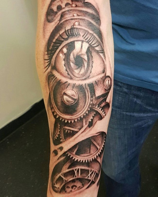 steampunk tattoo10