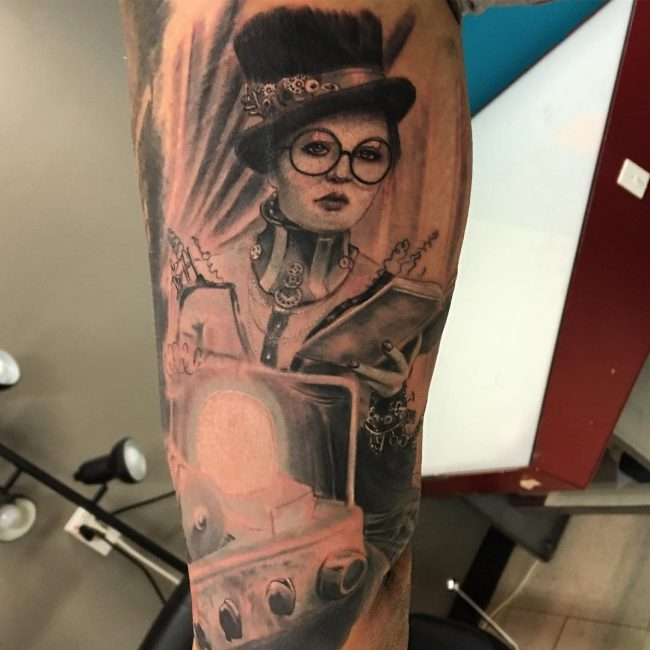steampunk tattoo12