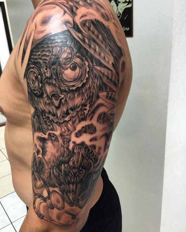 steampunk tattoo13