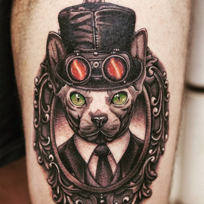steampunk tattoo15