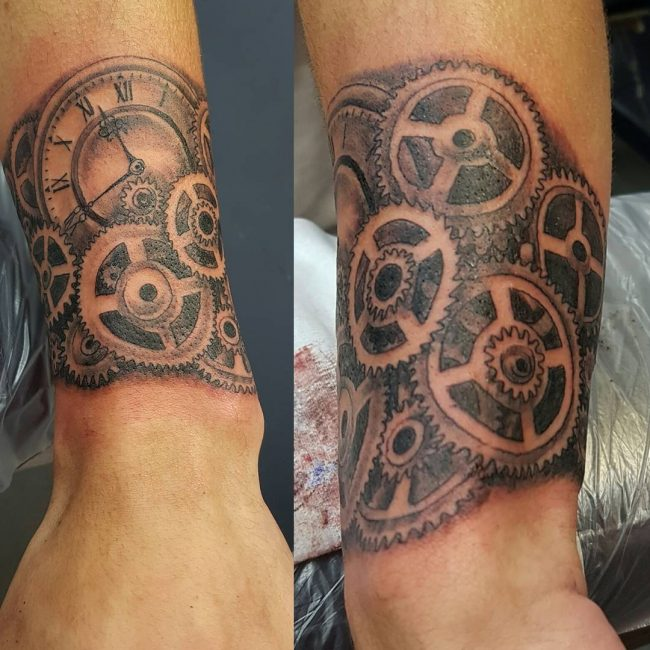 steampunk tattoo16