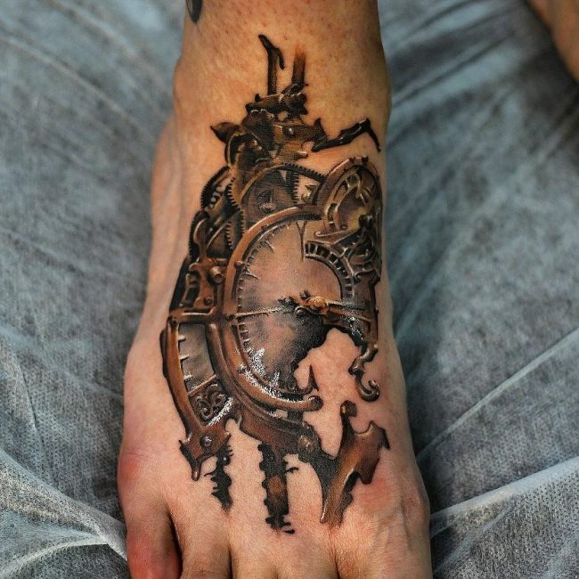 steampunk tattoo18