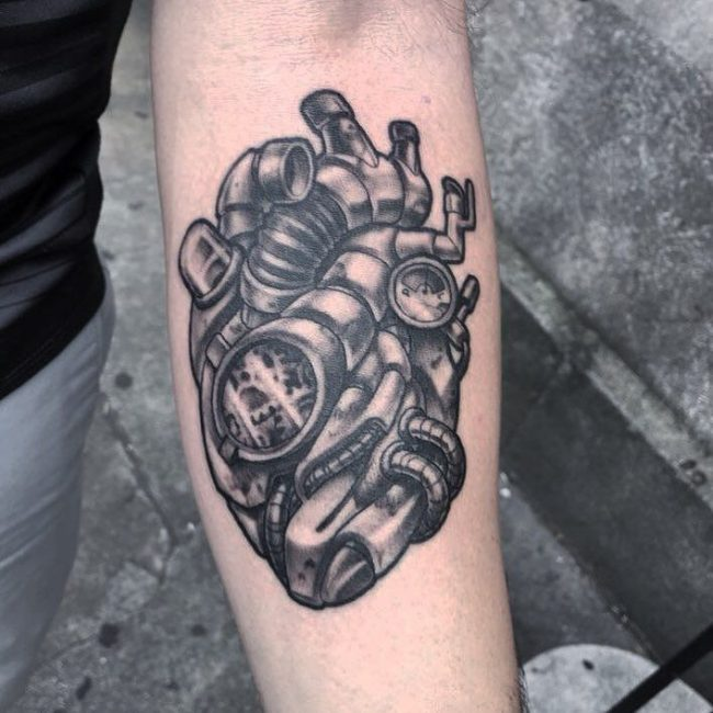 steampunk tattoo23