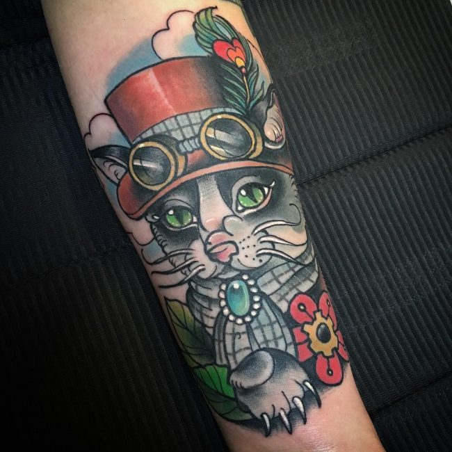 steampunk tattoo28