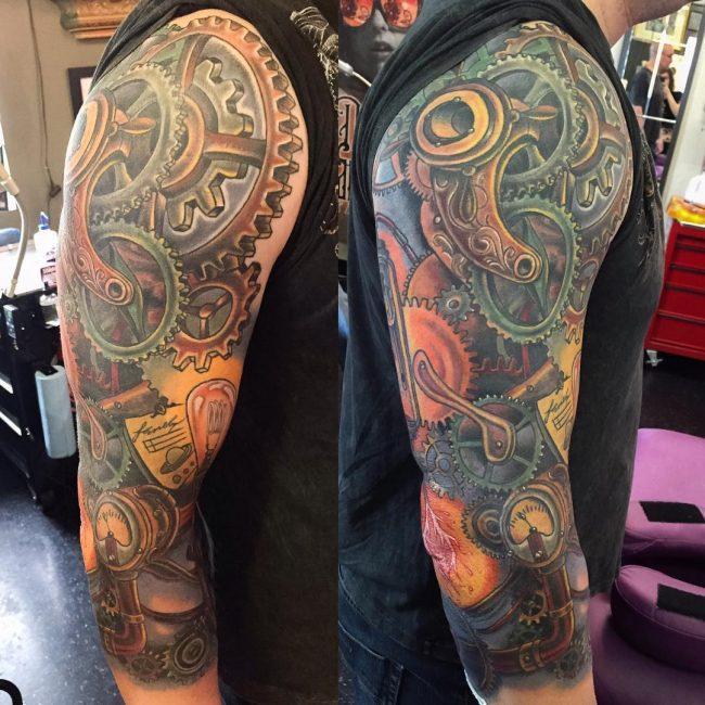 steampunk tattoo34