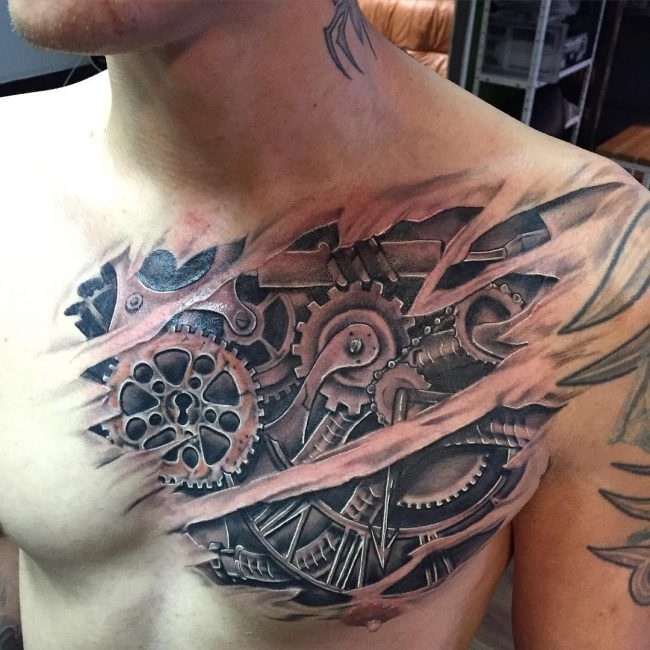 steampunk tattoo36