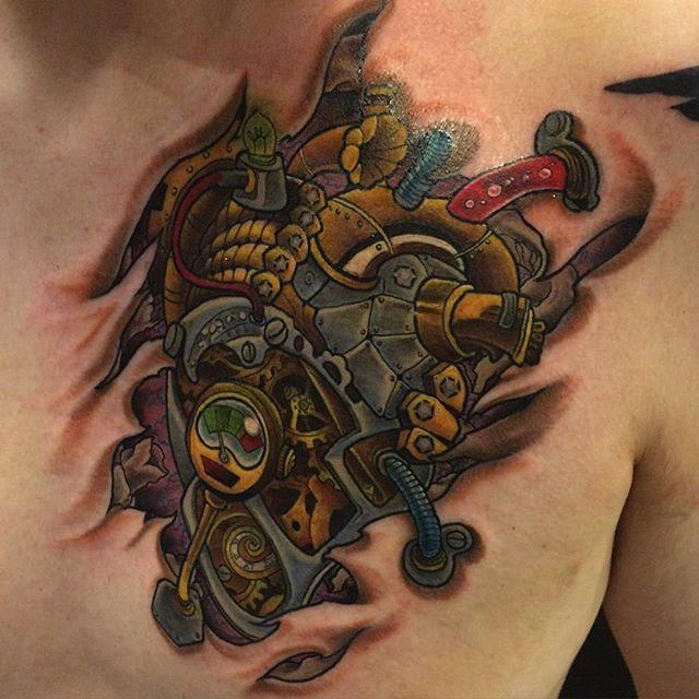 steampunk tattoo39