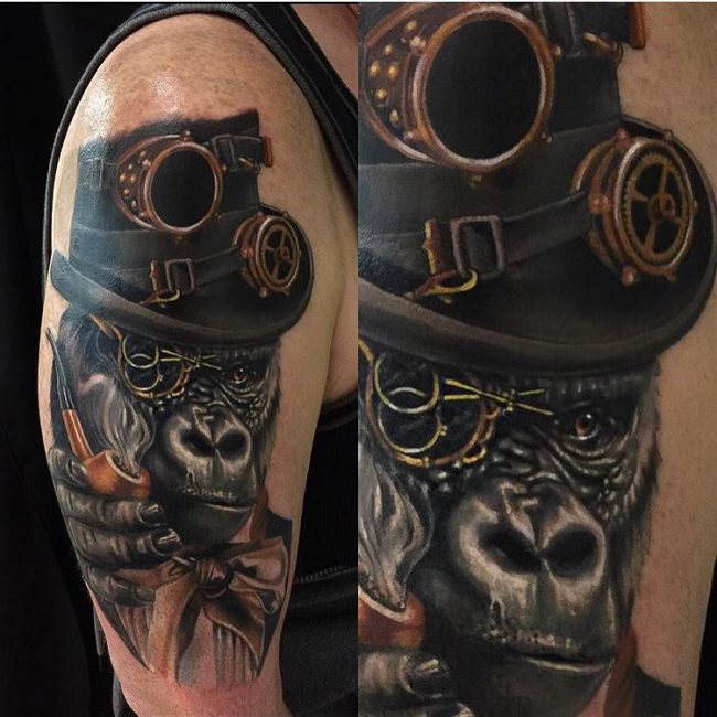 steampunk tattoo49