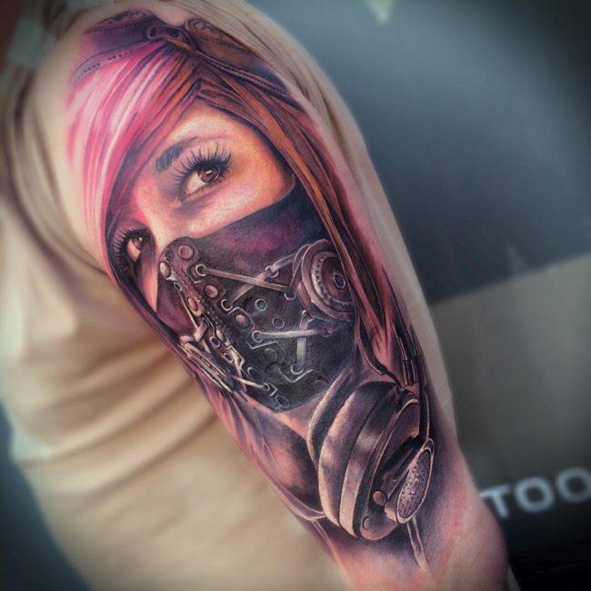 steampunk tattoo51