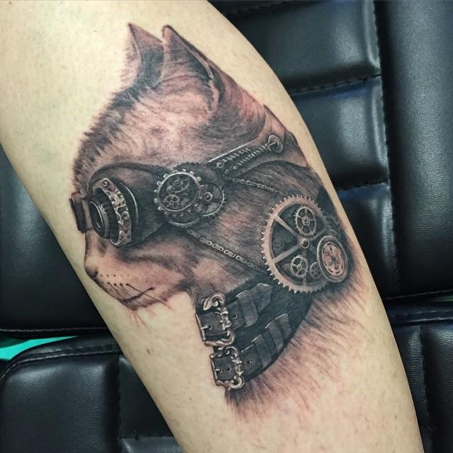 steampunk tattoo55
