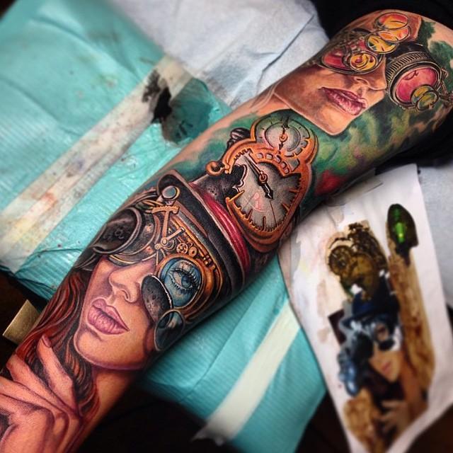 steampunk tattoo56