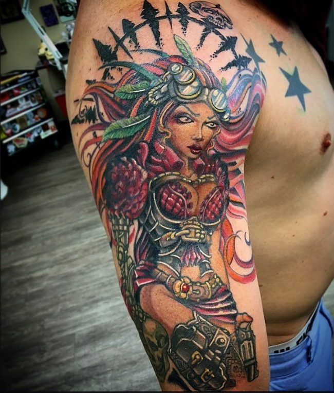 steampunk tattoo8