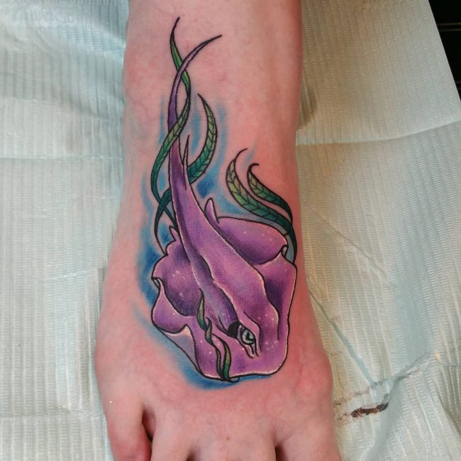 stingray tattoo7