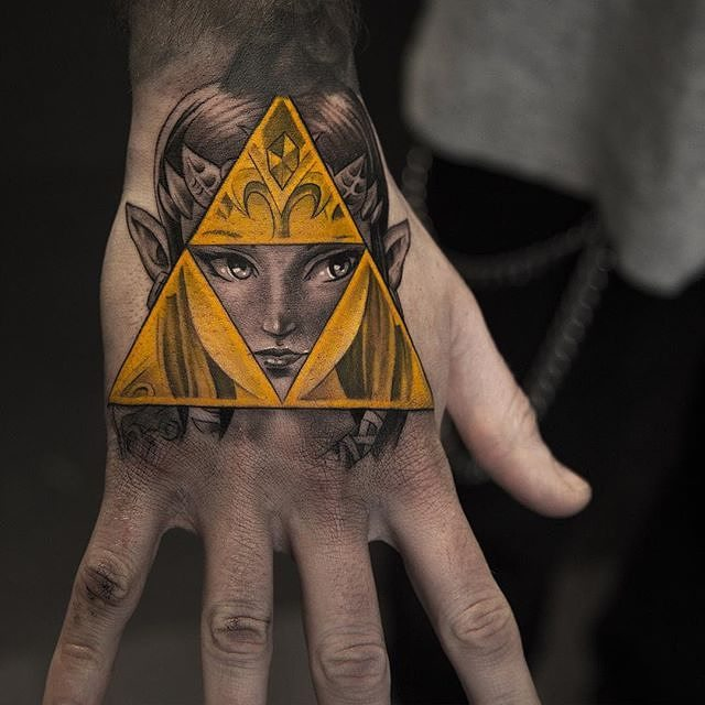triforce tattoo11