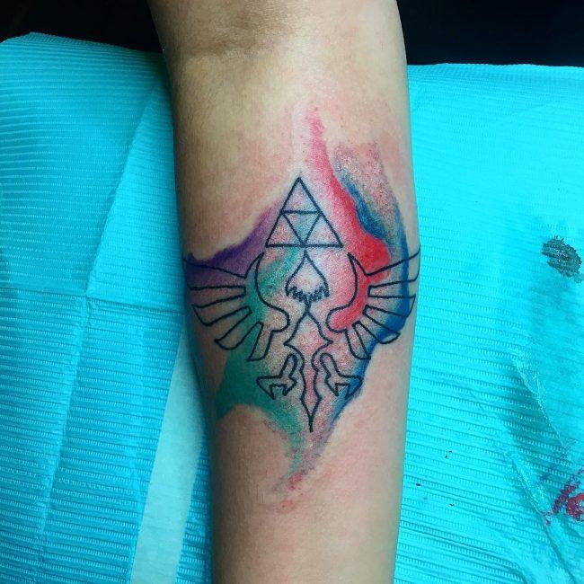 triforce tattoo13