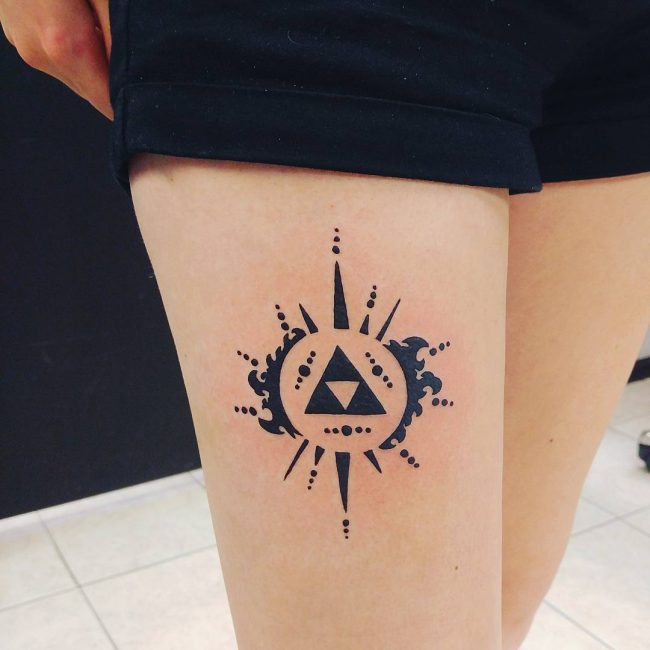 triforce tattoo18