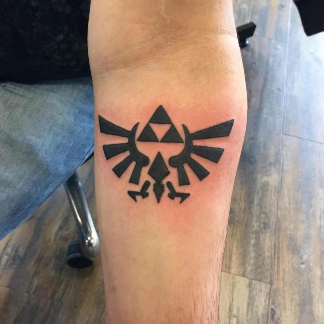 triforce tattoo19