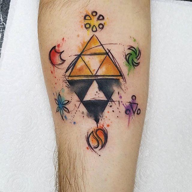 triforce tattoo2