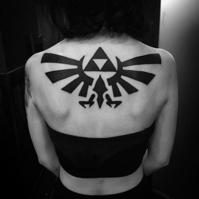 triforce tattoo22