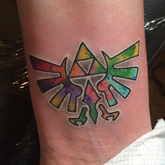 triforce tattoo23