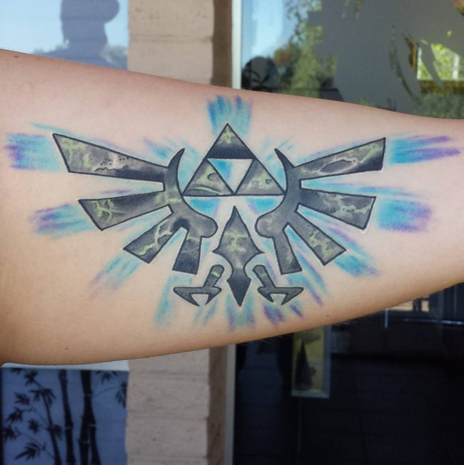 triforce tattoo4