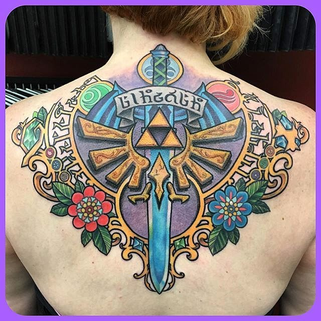 triforce tattoo7