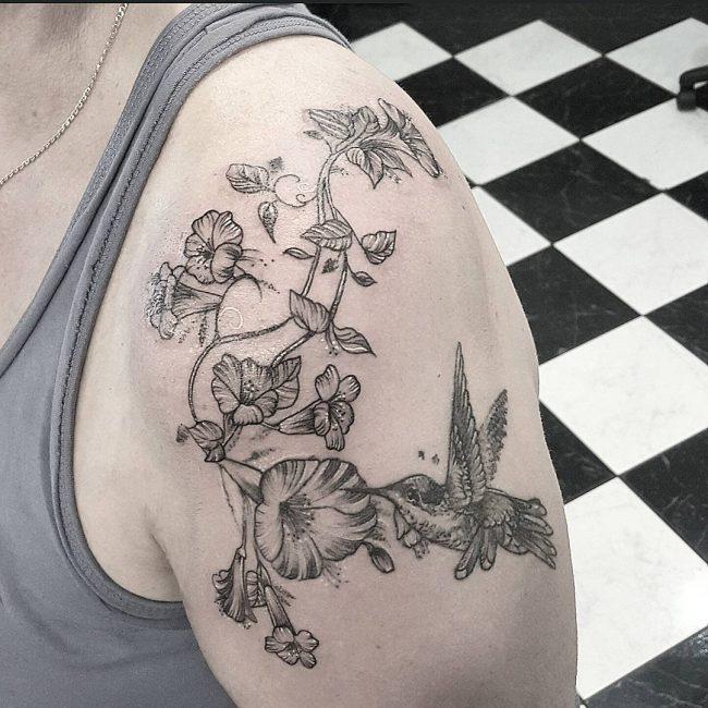 vine tattoo10