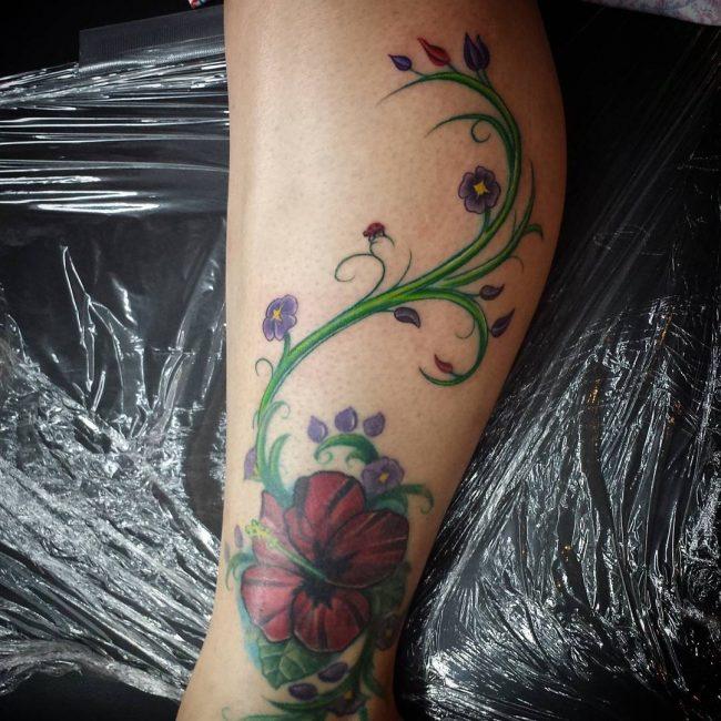 vine tattoo11