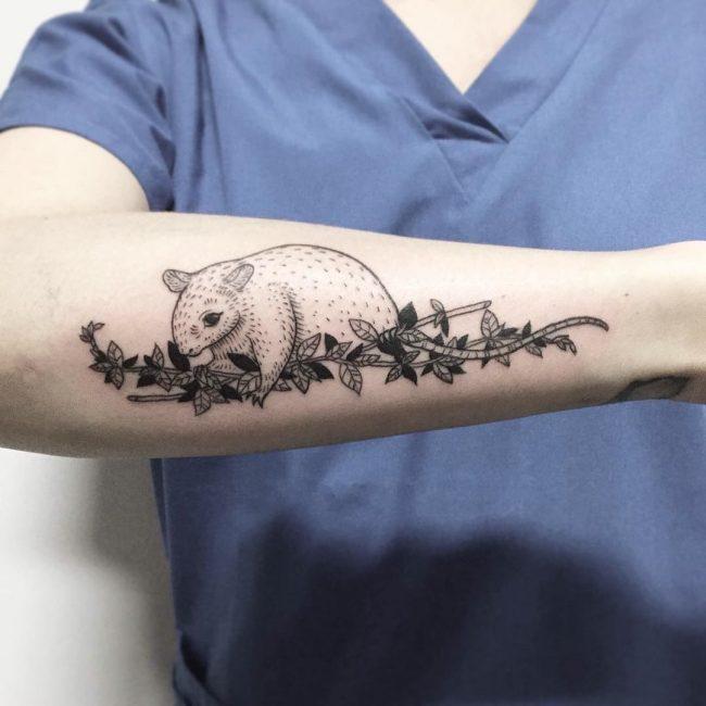 vine tattoo22