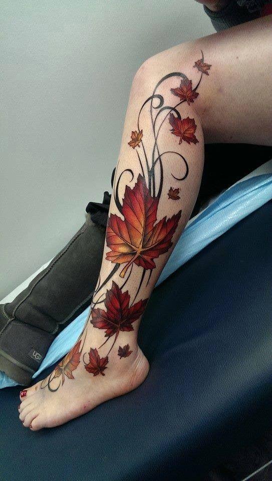 vine tattoo28