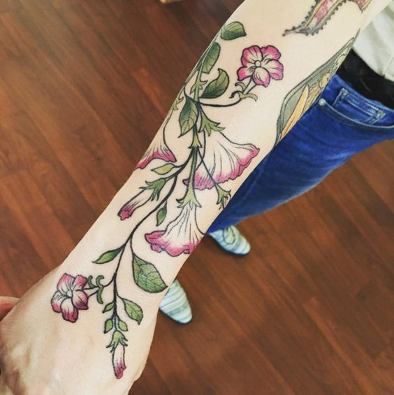 vine tattoo33