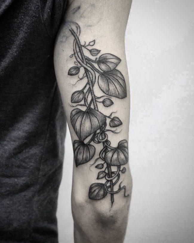 vine tattoo43