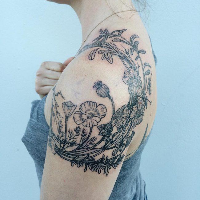 vine tattoo44