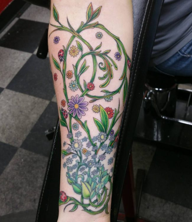 vine tattoo7