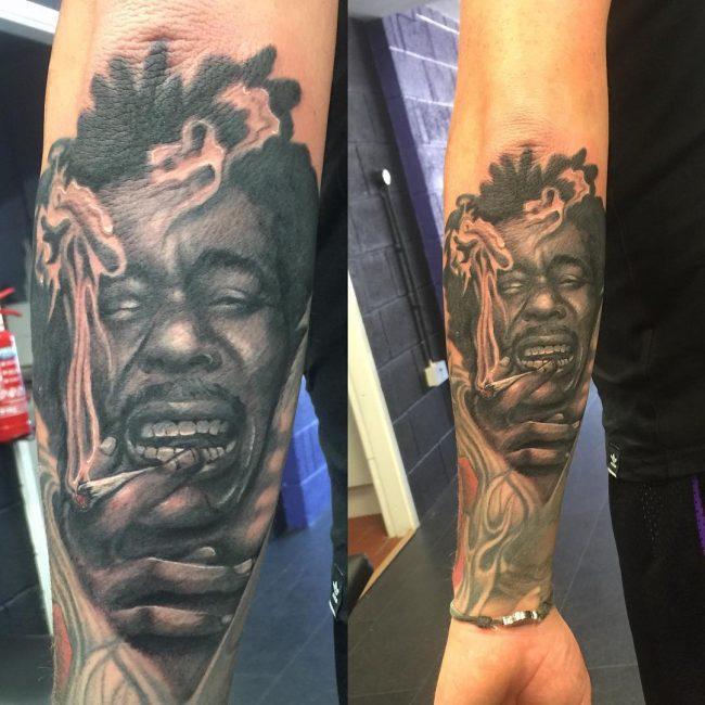 weed tattoo16