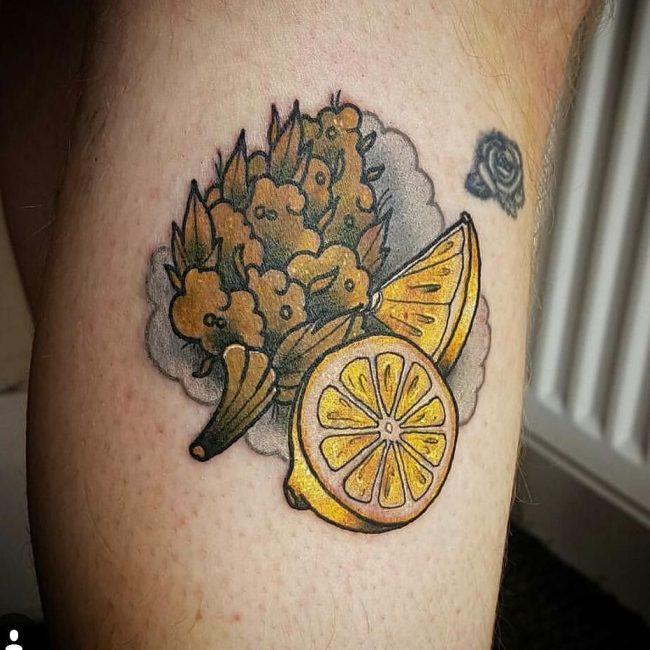 weed tattoo20