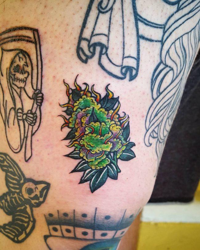weed tattoo22